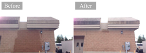 Commercial Building Pressure Washing #4