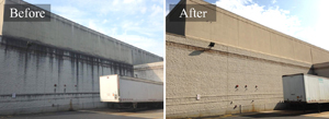 Commercial Building Pressure Washing #1