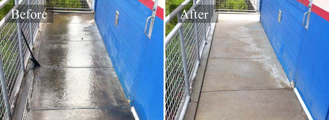 Commercial concrete cleaning service in san antonio tx for Commercial concrete cleaner