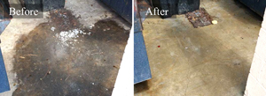 Commercial Dumpster Pad Pressure Cleaning #2
