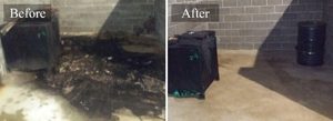 Commercial Dumpster Pad Pressure Cleaning #4