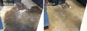 Dumpster Pad Pressure Cleaning