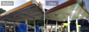 Gas Stations and Restaurants Pressure washing