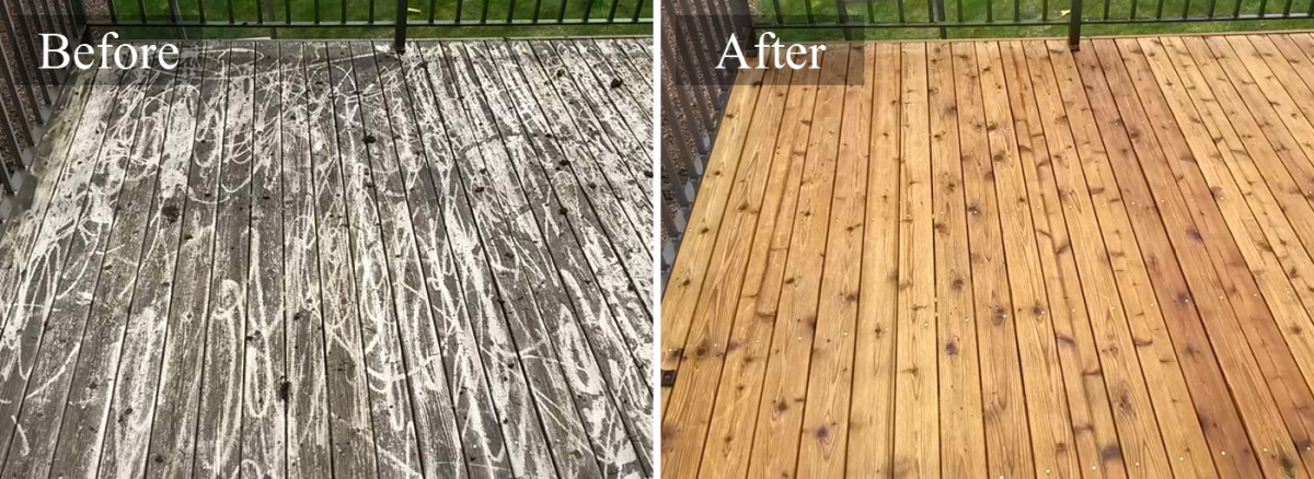 Deck Amp Fence Restoration Cleaning Services In San Antonio